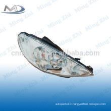 Head lamp crystal for Peugeot 206 R087276 L087275