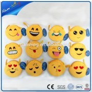 15 cm emoji wallet purses plush toy manufacturer