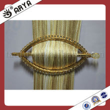 2013 new style golden ellipse embedded drill curtain buckle