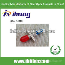 Adaptador híbrido de macho a hembra ST hembra de fibra óptica simplex