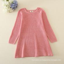 Толстый новый дизайн Весенняя одежда осень и зима Новый Год свитер корейских детская одежда девушки дети бархат свитер