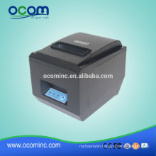 OCPP-809 --- cheap 80mm USB + Serial + LAN auto cutter thermal receipt printer