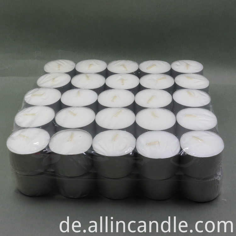 Tea Light Candles size