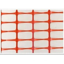 Color naranja de barrera de plástico malla de cerca de nieve