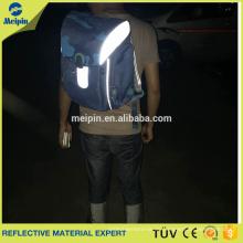 Günstigen Preis High Visibility PVC Reflektierende Paspeln für Kleidung und Taschen