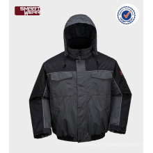 Ropa de trabajo de invierno de alta calidad chaqueta de parka de trabajo acolchado para hombre barato al por mayor