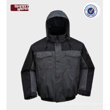 Alta qualidade inverno workwear barato mens atacado acolchoado parka jaqueta de trabalho