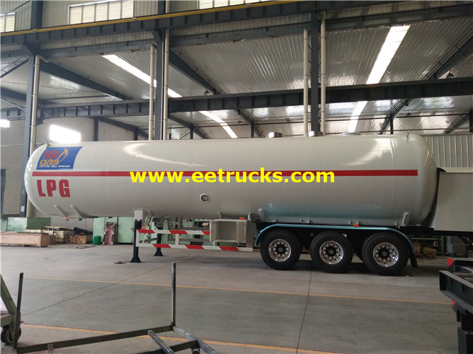 LPG Dispensing Tank Trailers