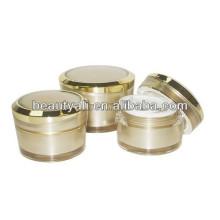 5g 10g 15g30g 50g 100g bocal acrylique conique avec motif décoratif
