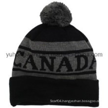 Promotional Winter Warm Acrylic Knitted Beanie Skull Hat/Cap