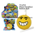 65mm Emojiface Balloon Ball