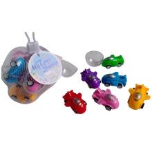 De Buena Calidad Juguete plástico de Tire hacia atrás el coche para niños
