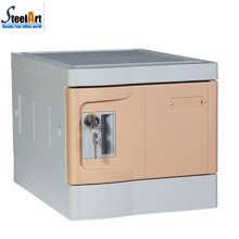 2018 hot sale abs plastic locker with key lock for sale
