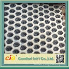 China fornecedor 100% poliéster tecido para a tampa de assento do motorcycl de malha 3d ar
