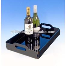 Plateau de vin acrylique prix usine