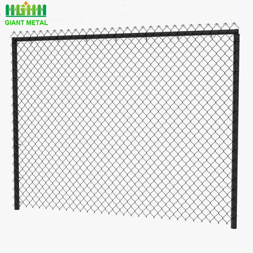 Galvanized Used Chain Link Diamond Wire Mesh Fence