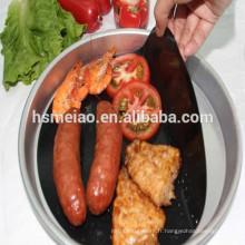 Feuille de cuisson et de cuisson en PTFE réutilisable et réutilisable écologique