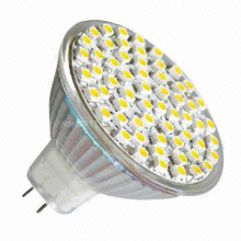 12V 24V DC Dimmable 48 3528 SMD MR16 LED Down Spotlight