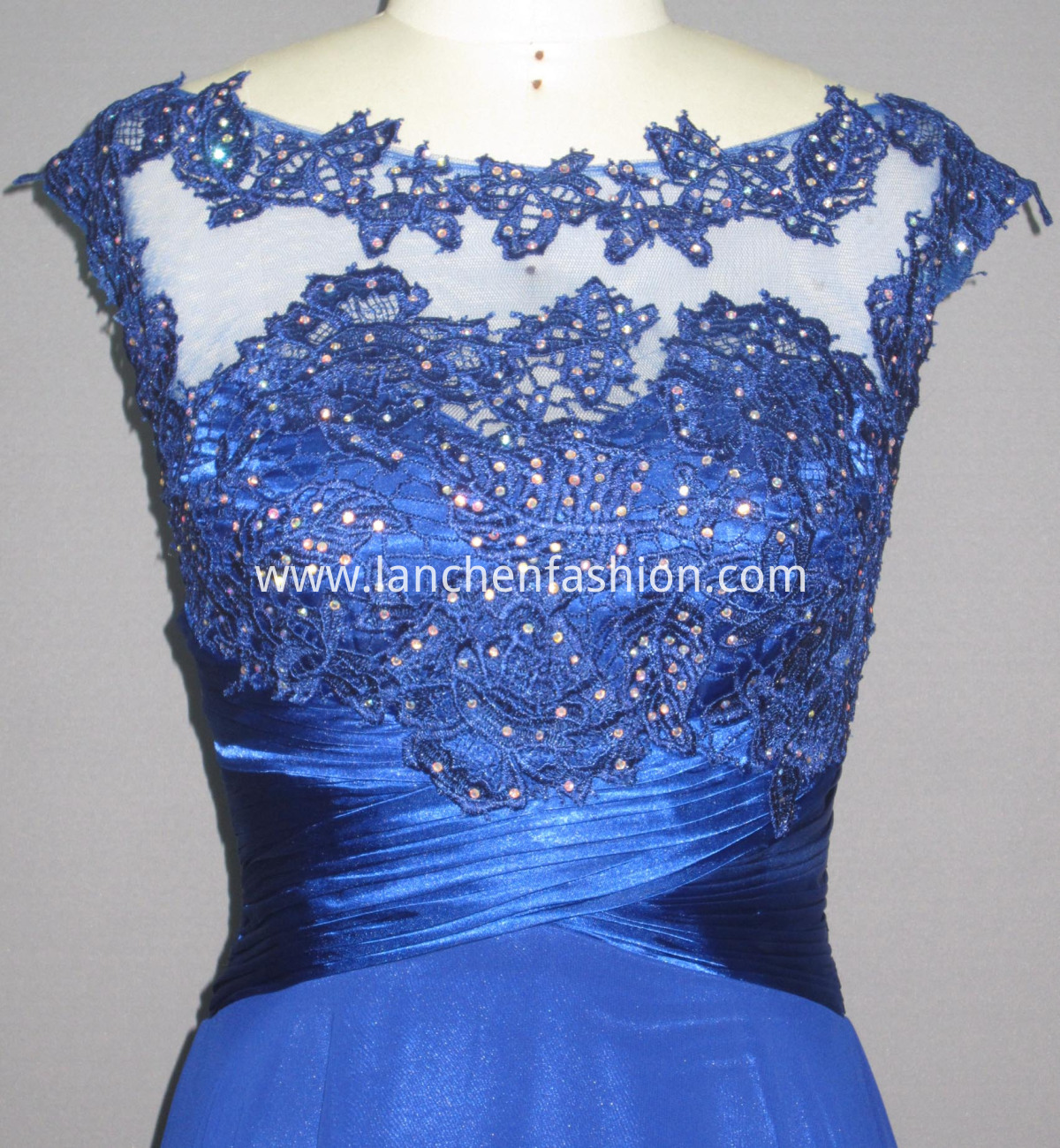 Women's Lace Satin detail