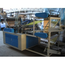 Best Quality for Best PE Bag Making Machine,PE Plastic Film Bag Making Machine,PE Zipper Bag Making Machine,Polythene Bag Making Machine for Sale KYB500-800 Vest Rolling Bag-Making Machine export to Latvia Manufacturer