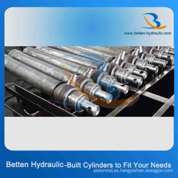 Cilindros hidráulicos telescópicos de múltiples etapas para elevación en venta