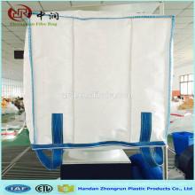 Kundengebundene große Tasche 1000kg für Nahrungsmittelzufuhr / wasserdichte Jumbo-Tasche mit Zwischenlage