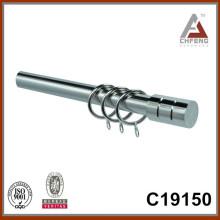 C19150 железная колонна карнизы стержня, металлические аксессуары для штор, набор карнизов