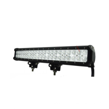 20 pulgadas 126W LED Barra de luz de trabajo 8820LM Manga de haz 4x4 Luces de campo a través para ATV Truck SUV