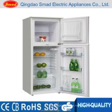 Refrigerador casero del refrigerador de la puerta doble blanca