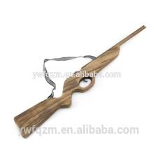 17 # de madeira longo brinquedo elástico arma