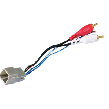 Custom automotive audio wiring harness suitable AMP connector for Toyota