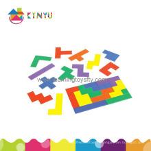 Puzzles en plastique, pentominoïdes en plastique (K065)