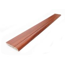 Plinthe de PVC en bois d'accessoires de plancher couvre la taille de 15mm