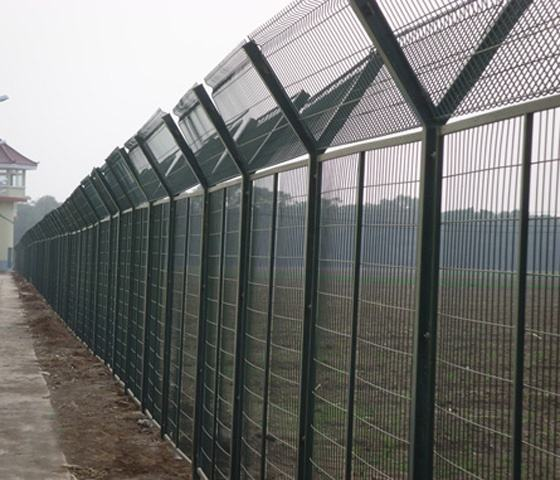 Welded Wire Airport Fence