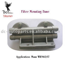 Dual Head Casting Filter Mounting Brackets, ISO/TS16949 Certified Factory