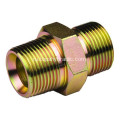 Brass+hydraulic+hose+to+hose+pipe+connectors