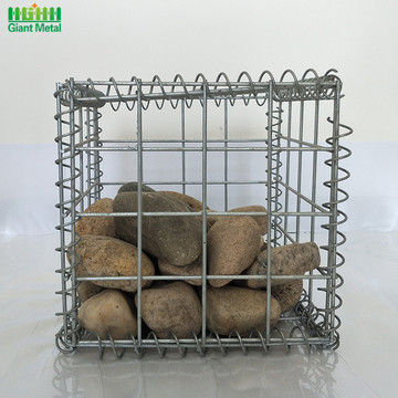 Welded Galvanized Retaining Wall Stone Gabion Box