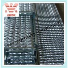 Passerelle métallique résistant aux glissades / plaque antidérapante
