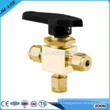 1/4 inch 3 piece cf8m ball valve