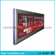 Boîte en aluminium populaire de cadre d'affichage à LED de LED