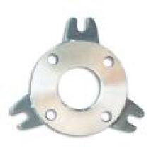 Brides de pompe en acier doux Pn10