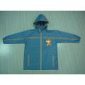 Yj-1143 Boys Toddlers Blue PVC Windbreaker Rain Jacket Coat Raincoats for Kids