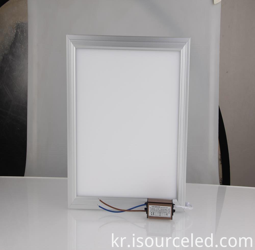 10w-35w led flat panel ceiling light fixture 2700K