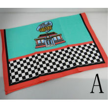 Manufacturer Printed Tea Towel Kitchen Towel (QHTK321)
