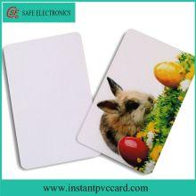 Low price blank inkjet pvc card for printer