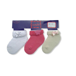3 Pack Baby Socks Full Terry Socks
