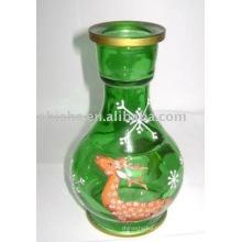 frasco de cachimbo de água, frasco de shisha, narguilé garrafa