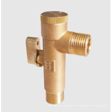 95mm Brass Strainer - Wog600