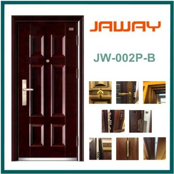 Puerta de madera de acero