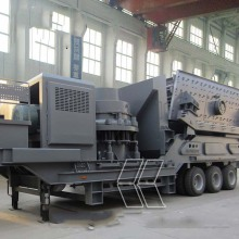Portable Cone   Crusher Plant For Sale